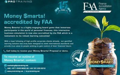 Money$marts! accredited by Finance Accreditation Agency (FAA)